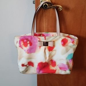 KATE SPADE WATERCOLOR SMALL EVIE TOTE